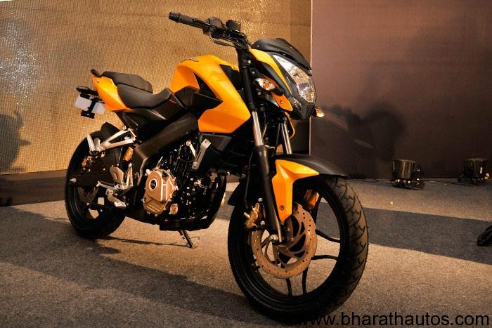New Bajaj Pulsar 200 NS