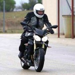 2013 Triumph Street Triple motorcycle