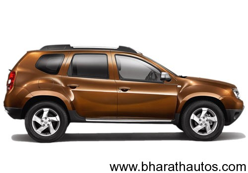 Renault Duster - SideView