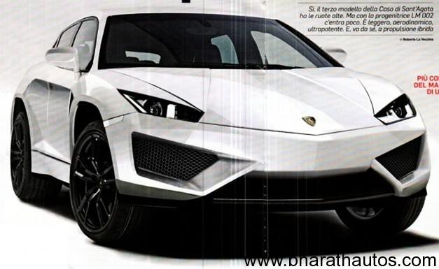 Lamborghini crossover concept