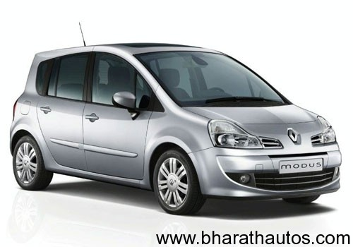 renault modus to be launched in india soon. Black Bedroom Furniture Sets. Home Design Ideas