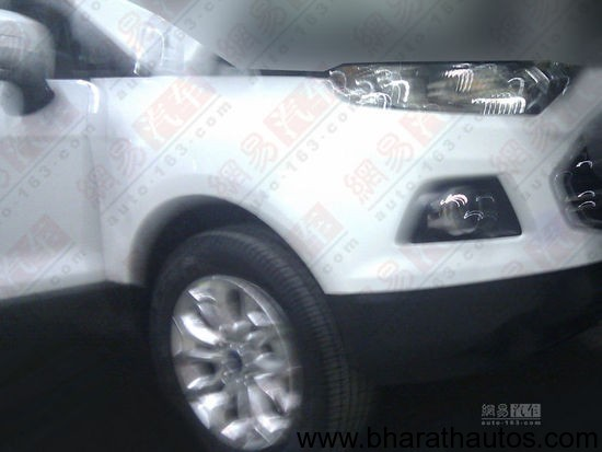Ford EcoSport production version - Frontend