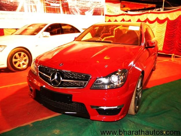 Mangalore Auto Expo 2012 - Merc C63 AMG