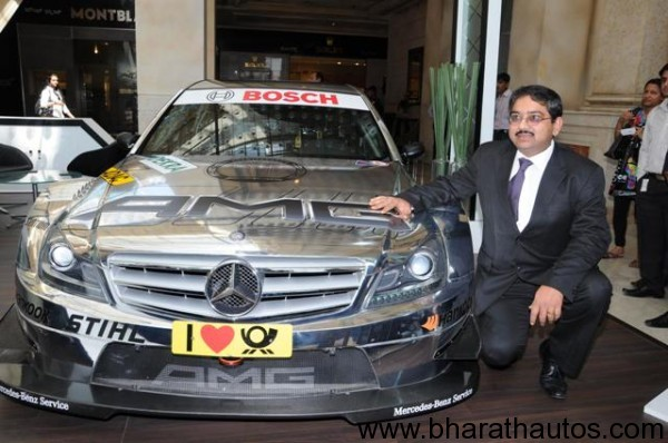 Mercedes benz inaugurates trendz in bangalore for Mercedes benz marketing mix