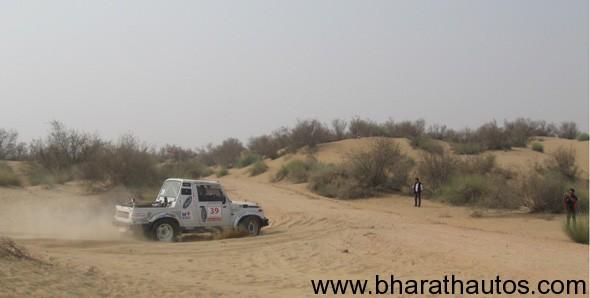 Day 2 of Maruti Suzuki Desert Storm Rally