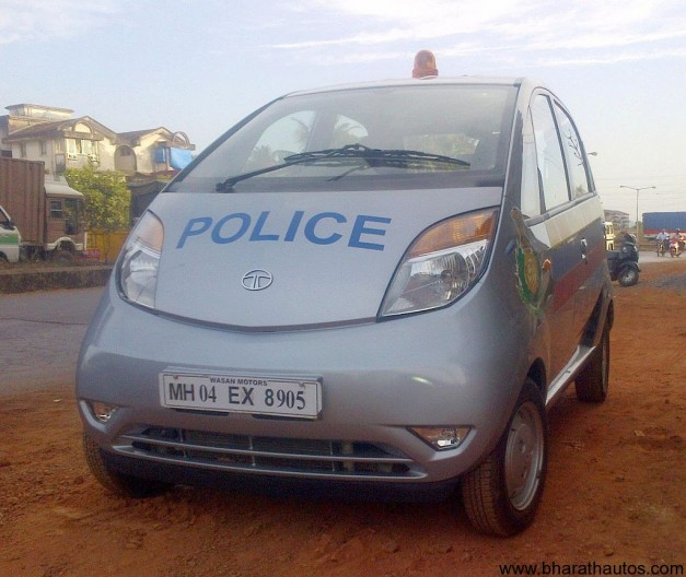 Goa Police Force to grab Tata Nano - 001