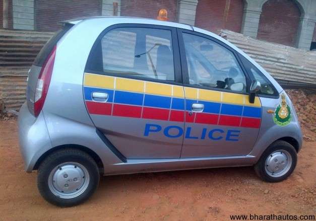 Goa Police Force to grab Tata Nano - 002
