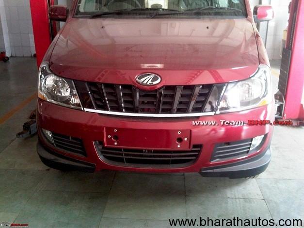 Mahindra Xylo facelift - FrontView