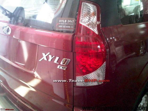 Mahindra Xylo facelift - RearView
