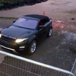 Range Rover Evoque Convertible Concept spied