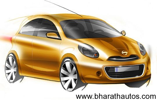 Nissan working on a sub-Micra car codenamed K2, launch likely in 2013