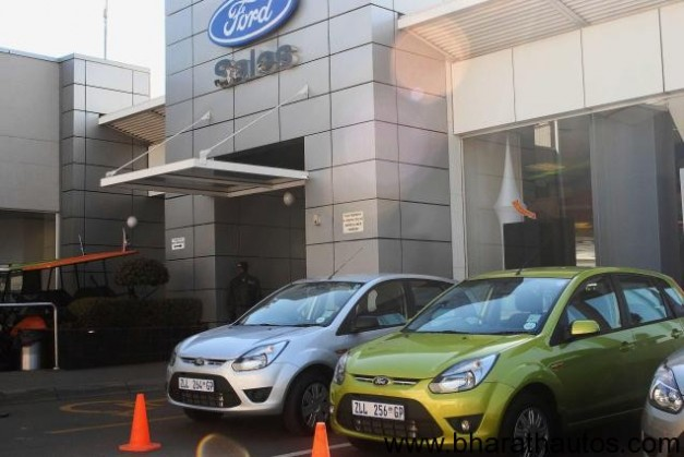 Ford India opening 45 dealerships in a day on 16th Feb