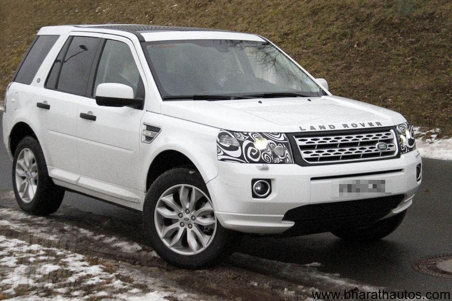 Spied Facelifted Land Rover Freelander 2
