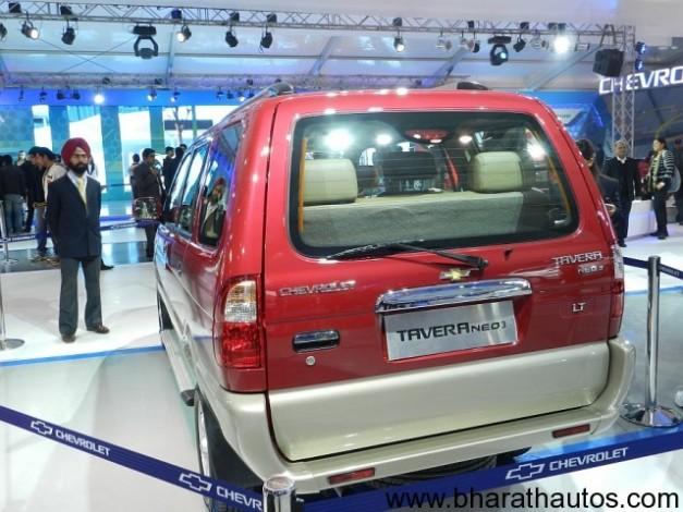 Chevrolet Tavera Neo 3 - RearView