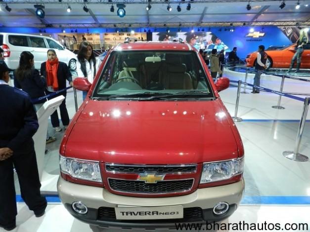 Chevrolet Tavera Neo 3 - FrontView