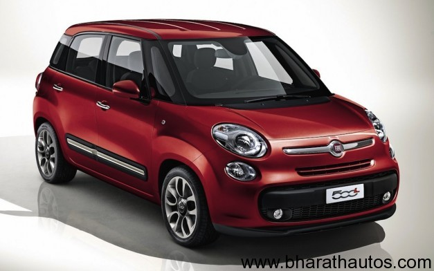 Fiat 500L five-door hatchback - Front