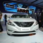 New Hyundai Sonata Fluidic - FrontView
