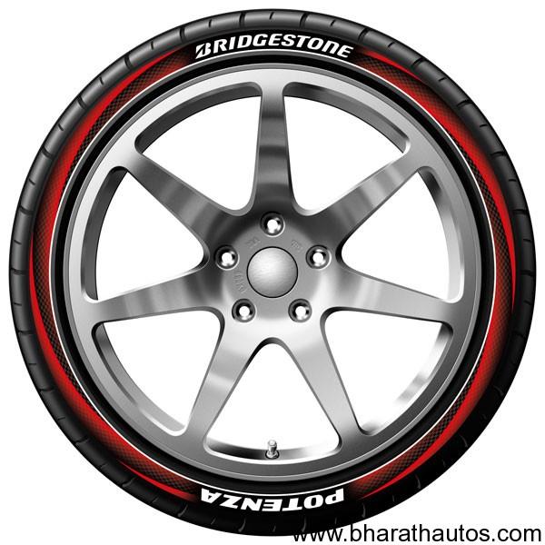 Bridgestone develops new tyre printing technology