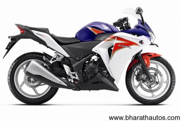 New paint shade for CBR250R