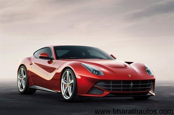 Ferrari F12 Berlinetta - FrontView
