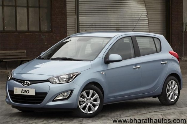 New Hyundai i20 facelift 2012