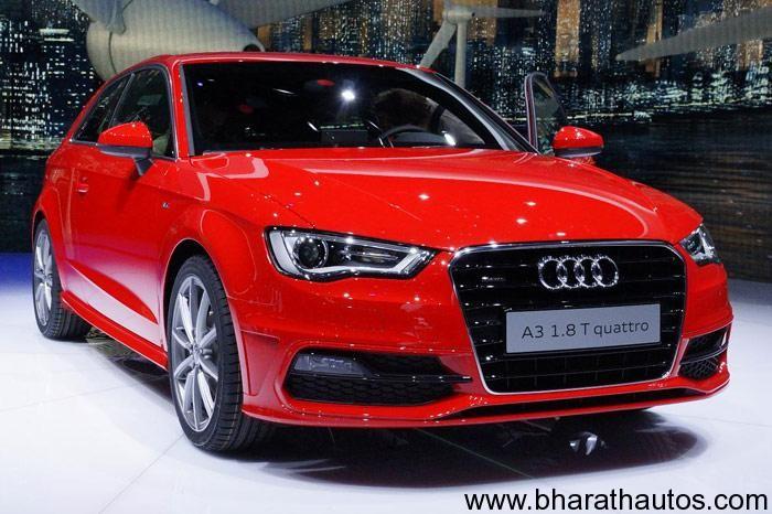 Audi A3 hatch unveiled at Geneva