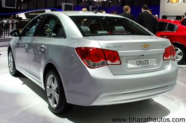 Chevrolet Cruze - RearView