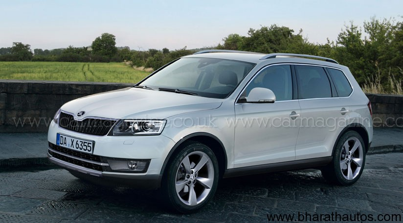 skoda plans to launch 2 new suvs snowman and new yeti. Black Bedroom Furniture Sets. Home Design Ideas