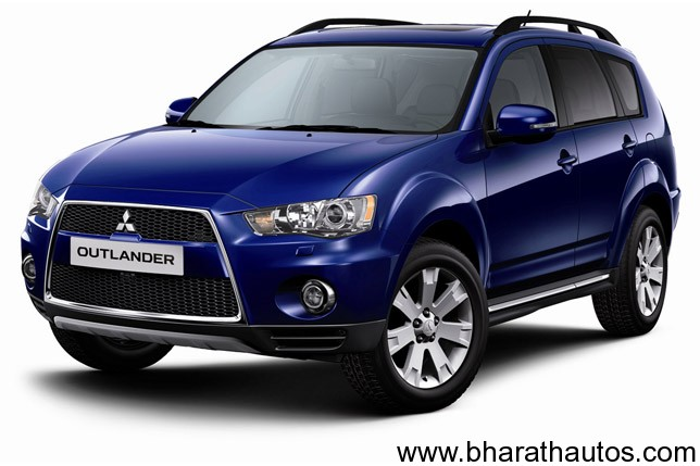 2012 mitsubishi outlander 7 seater crossover launched at. Black Bedroom Furniture Sets. Home Design Ideas