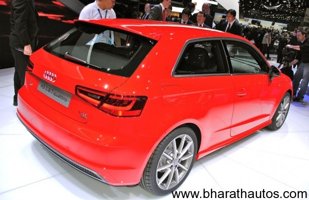 Audi A3 hatch unveiled at Geneva - Rearview
