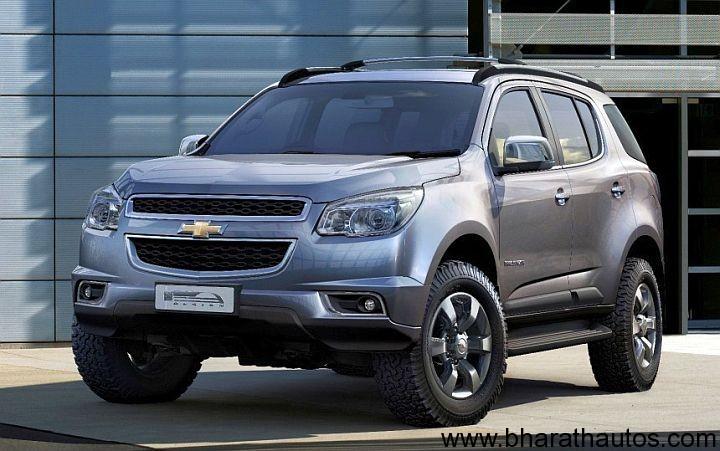 Chevrolet Trailblazer production model revealed