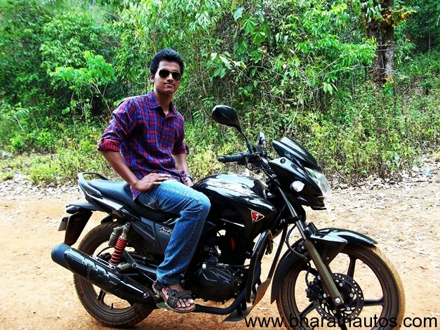 Hero Honda Hunk review by Sandesh
