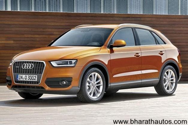 Audi Q3 launch in India