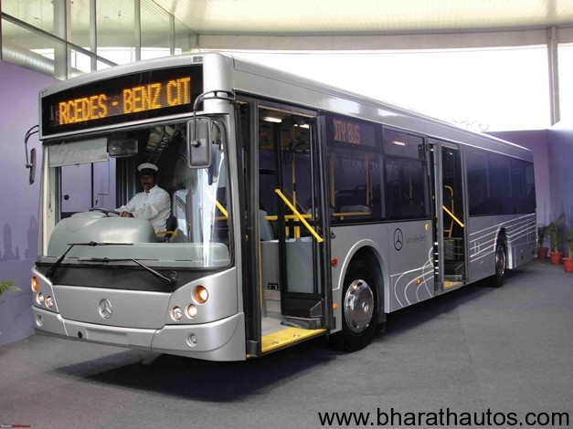 Mercedes Benz Launches City Bus In India At A Price Of Rs