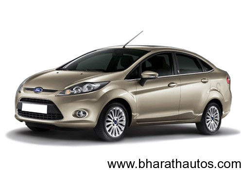 Ford Fiesta - FrontView