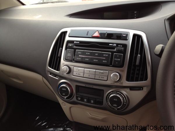 New Hyundai i20 facelift - InteriorView