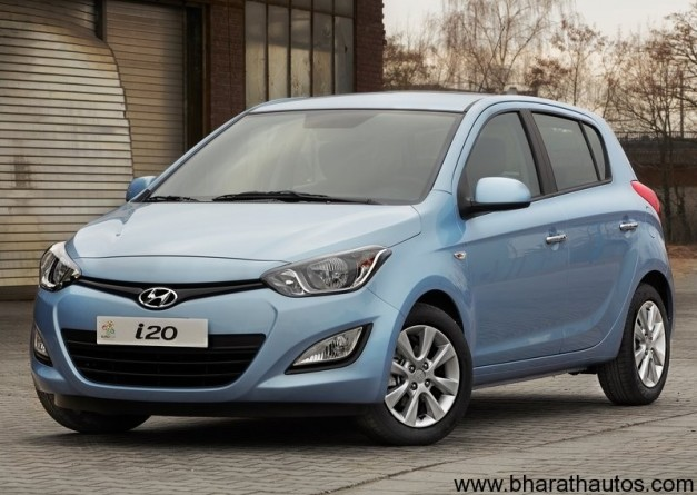 New facelift Hyundai i20 - FrontView