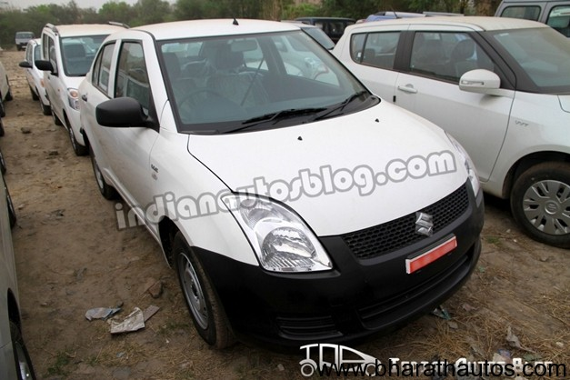 Maruti Suzuki Swift DZire Tour - FrontView