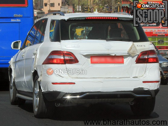 New Mercedes Benz ML-Class in Pune