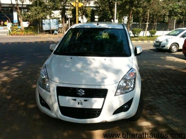 2012 Maruti Ritz facelift snapped - 001