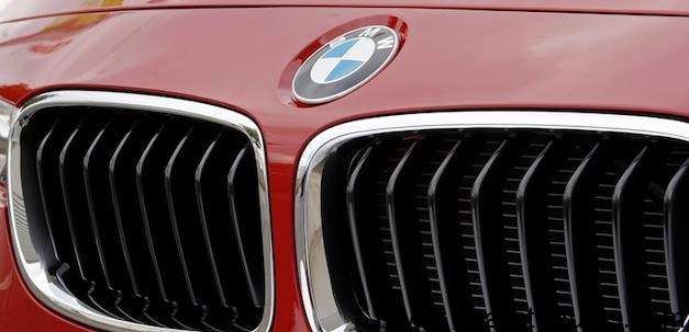 BMW family grille