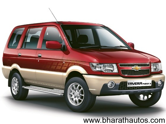 New Chevrolet Tavera Neo 3 BS IV MPV