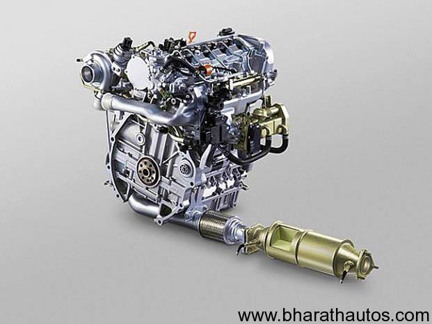 Honda reveals their 1.6L diesel engine