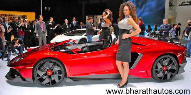 New Lamborghini Aventador J Was Built In Just 6 Weeks