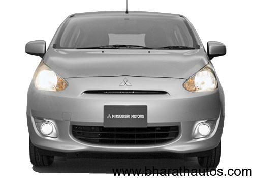 Mitsubishi Mirage hatchback - 001
