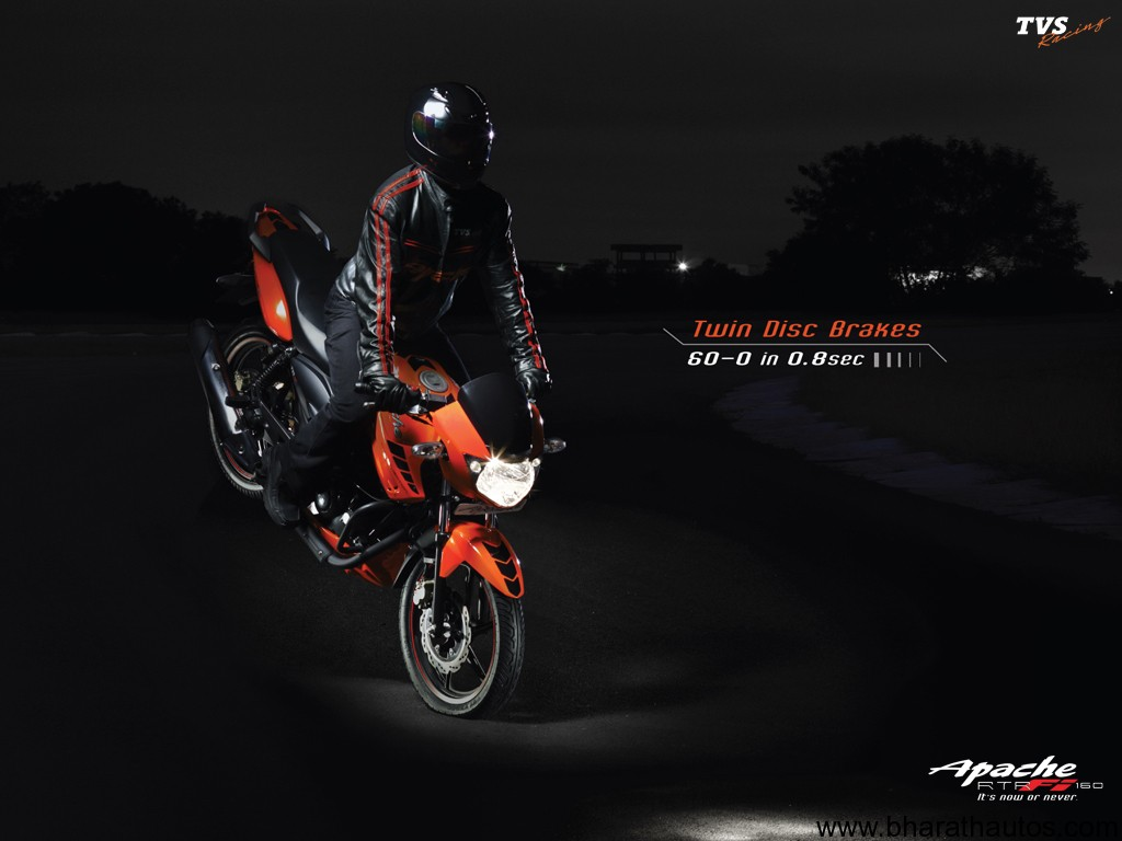 TVS Apache series of motorcycles - 001