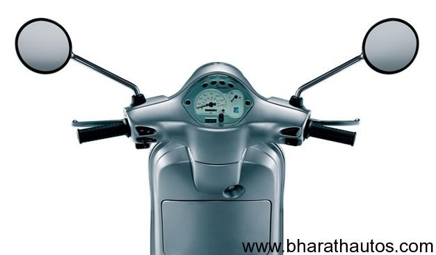 Piaggio Vespa LX125 speedometer