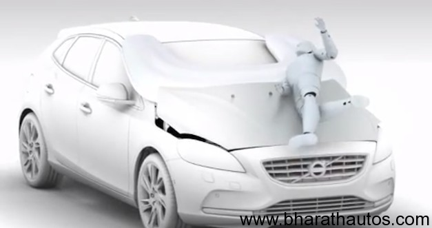 Volvo V40 features life-saving pedestrian Airbag technology