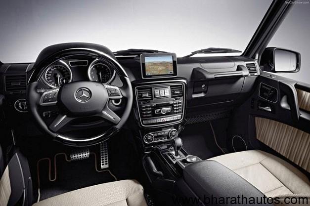 2013 Mercedes-Benz G-Class - DashboardView