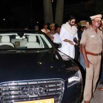 Abhishek Bachchan snapped in his New Audi A8 Limousine - 001
